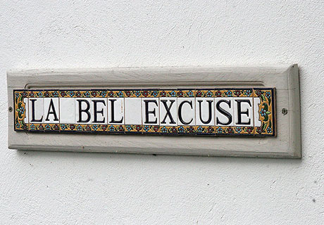 La Bel' Excuse