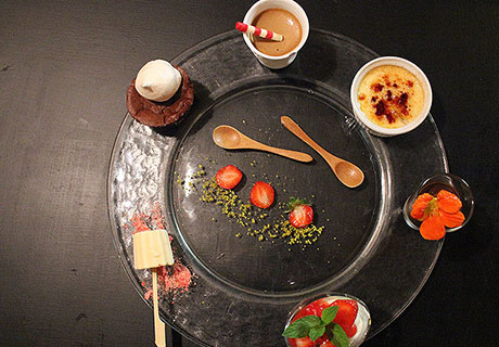 Café gourmand restaurant La Bel' Excuse